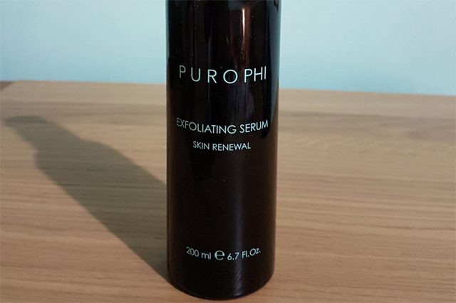 purophi exfoliating serum